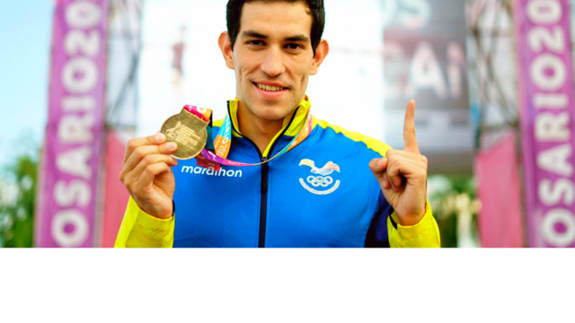 Contentísimo por dar esa primera medalla de oro